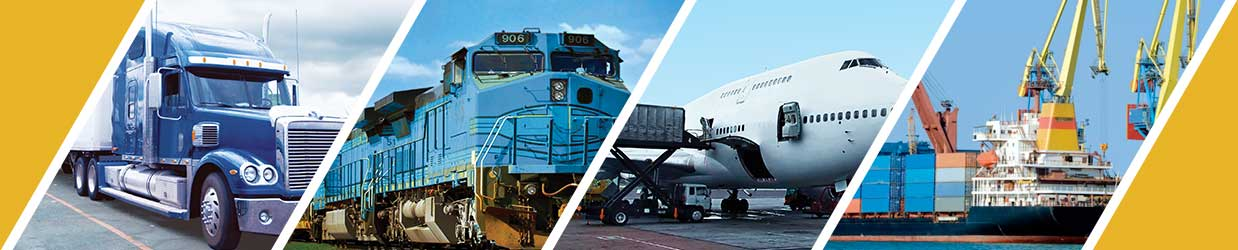Land, Air, Rail, and Shipping Transportation Services